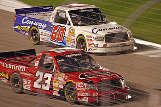 Bill Davis Racing - The 23 truck in 2007.