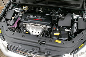 toyota az engine wikipedia rh en wikipedia org 2004 Toyota Camry Engine Diagram External 2004 toyota camry engine parts diagram