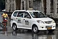 Toyota Avanza taxi, Magallanes Drive, Intramuros, 2018 (01).jpg