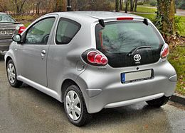 Toyota Aygo Facelift 20090222 rear.jpg