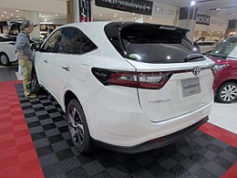 Toyota HARRIER TURBO ELEGANCE (DBA-ASU60W-ANTMT) rear.jpg