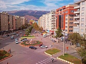 Kahramanmaraş - View along Trabzon Avenue (Trabzon Caddesi)