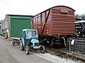 Tractor and Vanfit - geograph.org.uk - 389881.jpg