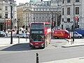Trafalgar Square, number 24 bus, 13 June 2011 (1).jpg