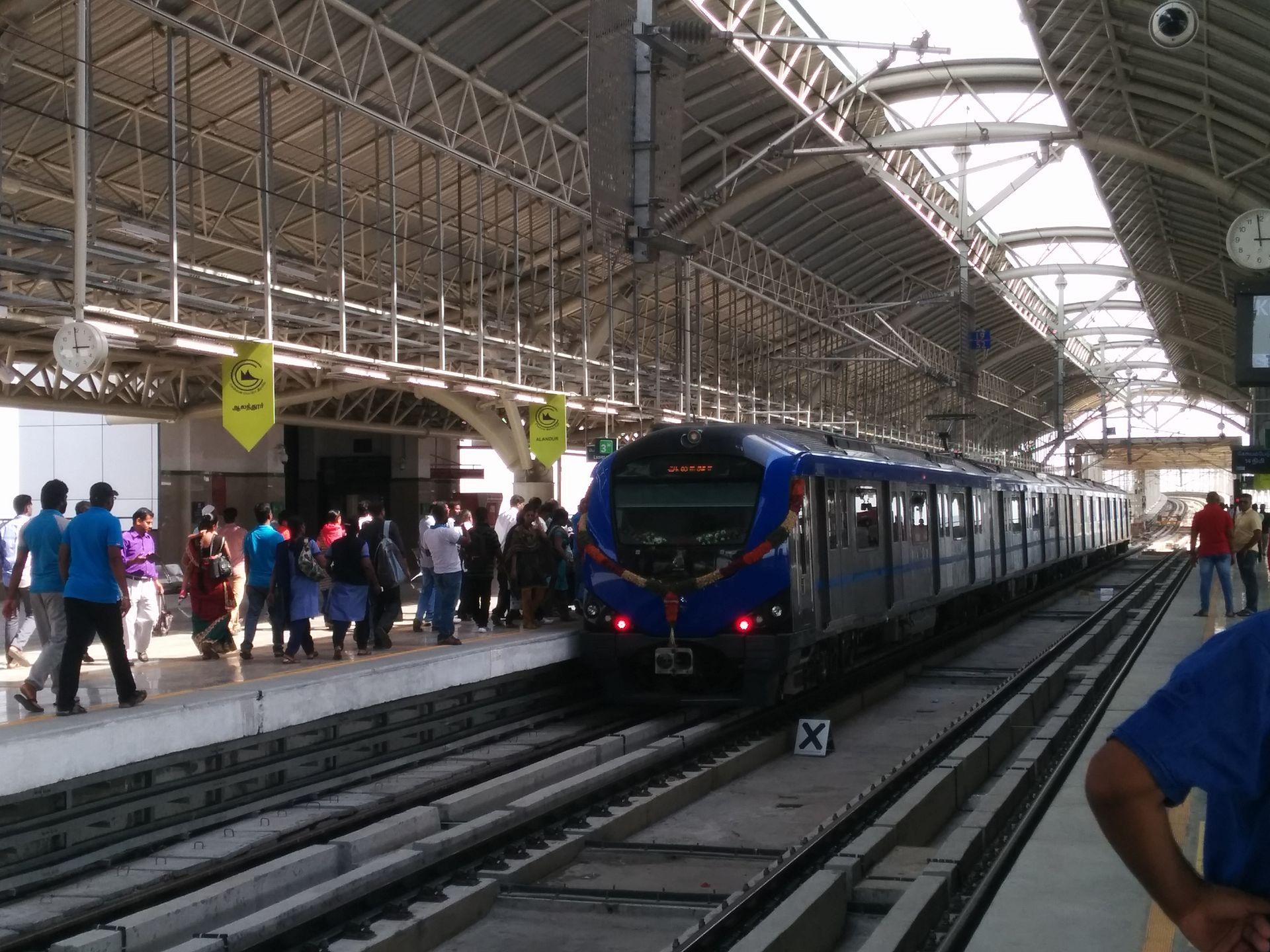 Alandur Metro Station Wikipedia