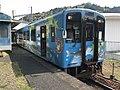 Train for Nishikicho Station at Seiryu-Shin-Iwakuni Station 2.jpg