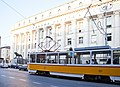 Tram in Sofia near Palace of Justice 2012 PD 055.jpg