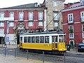Tram near Castel de Sao Jorge in Lisbon (4224626105).jpg