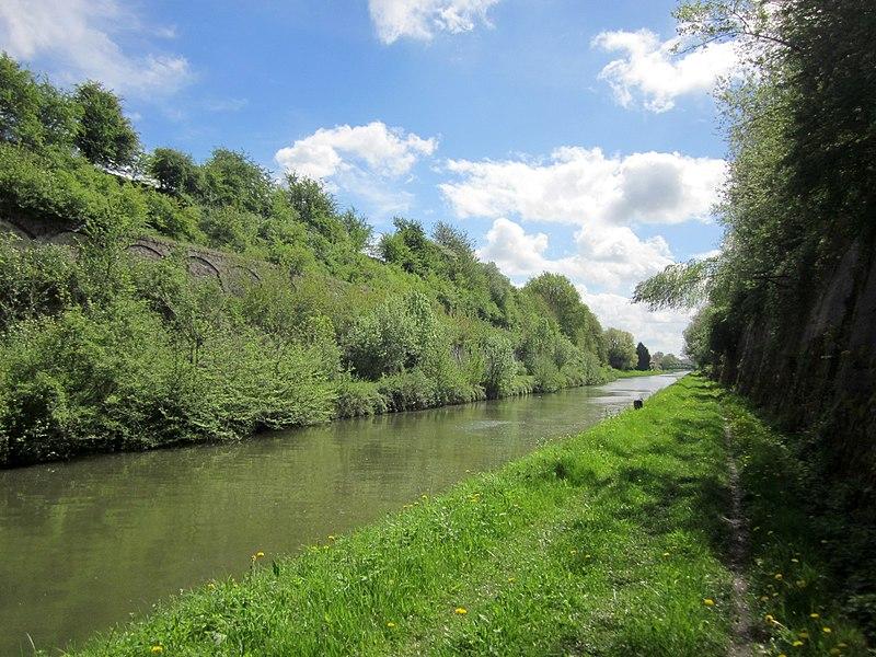 Tranchée de Vendhuile. Canal de Saint-Quentin.