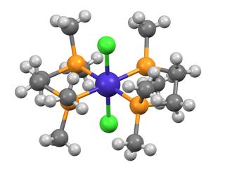 1,2-Bis(dimethylphosphino)ethane - Image: Trans Co Cl 2(dmpe)2