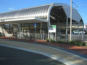 Kelmscott railway station - Station in April 2010