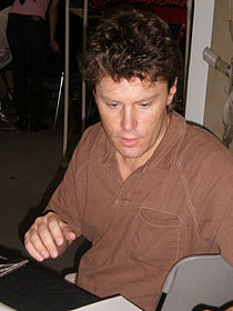 Travis Charest at Super-Con 2009.JPG