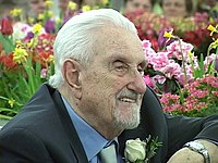 Jiří Traxler celebrates 95th birthday, Edmonton, Canada, 10 March 2007.