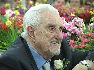Jiří Traxler - Jiří Traxler celebrates 95th birthday, Edmonton, Canada, 10 March 2007.