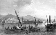 Trebizond from the sea J. Schroeder.png