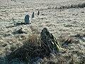 Trecastle Mountain Stone Circle detail - geograph.org.uk - 175411.jpg