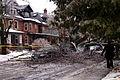 Tree falls on vehicle - Toronto Ice Storm 2013.jpg