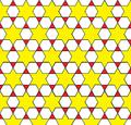 Trihexagonal tiling stars.png