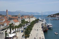 The town of Trogir
