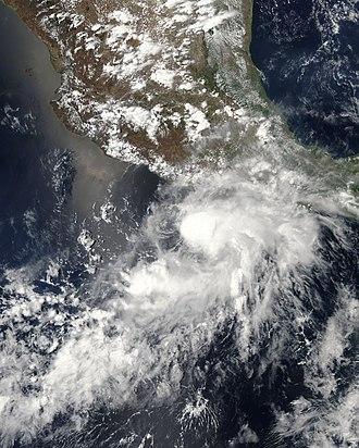2006 Pacific hurricane season - Image: Tropical Storm Aletta (2006)