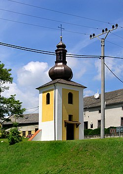 Troubky-Zdislavice, Troubky, bell tower.jpg