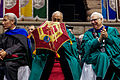 Tulane Commencement 2013 Sabree Hill-239 Dalai Lama World Peace Parasol Scott Cowen.jpg