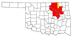 Area metropolitana di Tulsa e Tulsa-Bartlesville CSA.png