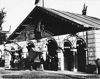 Beyoğlu (Tünel) - The original 1875 Beyoğlu station building.