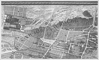Turgot map of Paris - Image: Turgot map Paris KU 03