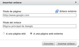 Español: Tutorial de edición, enlaces externos.
