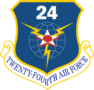 Twenty-Fourth Air Force - Image: Twenty Fourth Air Force Emblem