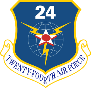 Twenty-Fourth Air Force Numbered air force of the United States Air Force responsible for cyber forces