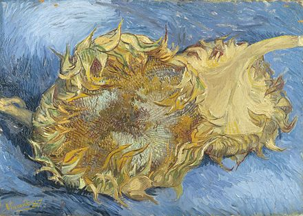 Van Gogh painting sunflowers - Wikiwand