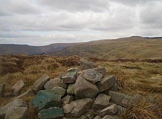 Pen Twyn Mawr mountain in United Kingdom