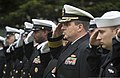 U.S. Sailors salute Navy Chief Counselor Billy Spillers as his coffin is lowered into the ground during his funeral at Arlington Cemetery in Arlington, Wash., April 16, 2014 140416-N-MM360-095.jpg