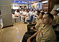 U.S. and Indonesian Sailors and Marines attend the opening ceremony for Cooperation Afloat Readiness and Training (CARAT) 2013 in Jakarta, Indonesia, May 21, 2013 130521-N-IY633-222.jpg