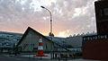 UCBL Villeurbanne Amphitatre Seguin sunset August2011.jpg