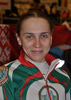 Ina Savenka Belarusian cyclist
