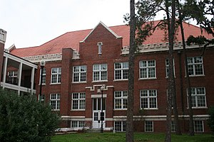 Flint Hall (Gainesville, Florida) - Image: UF Historic Building Keene Flint Hall
