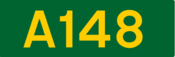 A148 road shield