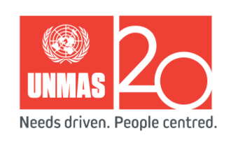 United Nations Mine Action Service - Image: UNMAS 20 logo gray tagline