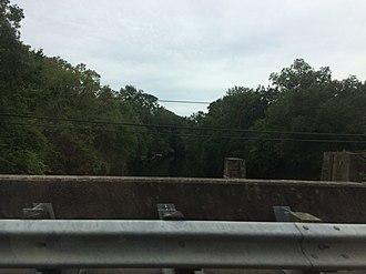 Santa Fe River (Florida) - Image: US 27 Santa Fe River