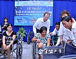 USAID Project Supports Rehabilitation Department for Children and Wheelchair Distribution in Danang (9305246814).jpg