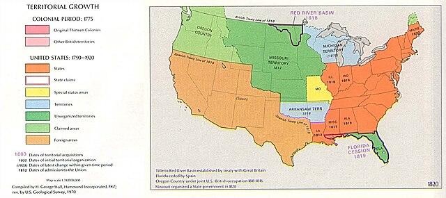 Datei:USA Territorial Growth 1820.jpg – Wikipedia