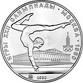USSR 1979 5rubles Ag Olympics80 Gymnastics (MMD) a.jpg