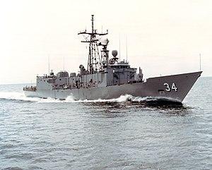USS Aubrey Fitch FFG-34