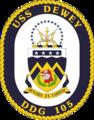USS Dewey COA.png