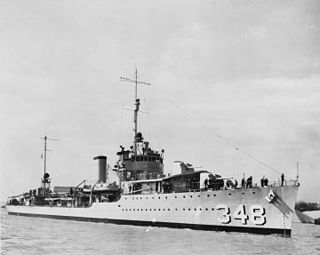 <i>Farragut</i>-class destroyer (1934) 1934 Destroyer class of the US Navy