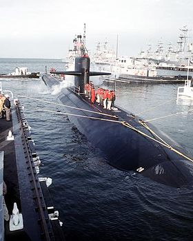 Image illustrative de l'article USS Memphis (SSN-691)