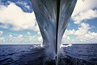 USS Missouri bow looking down waterline.jpg